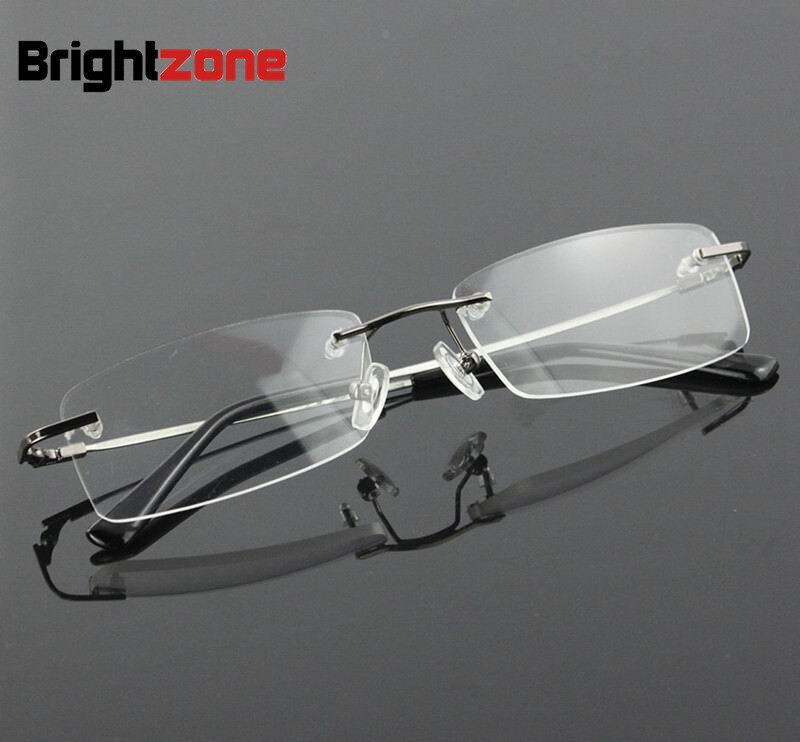 Liga De Titânio sem aro flexível armações de óculos ópticos espetáculo  quadro ponto de grau óculos oculos de grau óculos de prescrição 9dd5a11d81