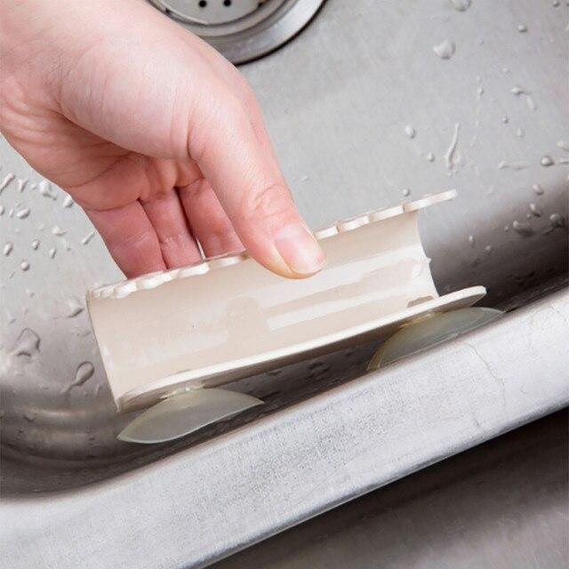 Кухня сушилка для ванной комнаты унитаз раковина присоски губка держатель кронштейн на присоске блюдо ткани шайба кронштейна мыло хранения