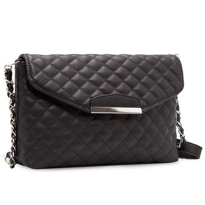 1cd57d0973cc 2018 New Design Women Crossbody Shoulder Bag Fashion PU Leather Handbag  Clutch Bag Ladies Tote Purse