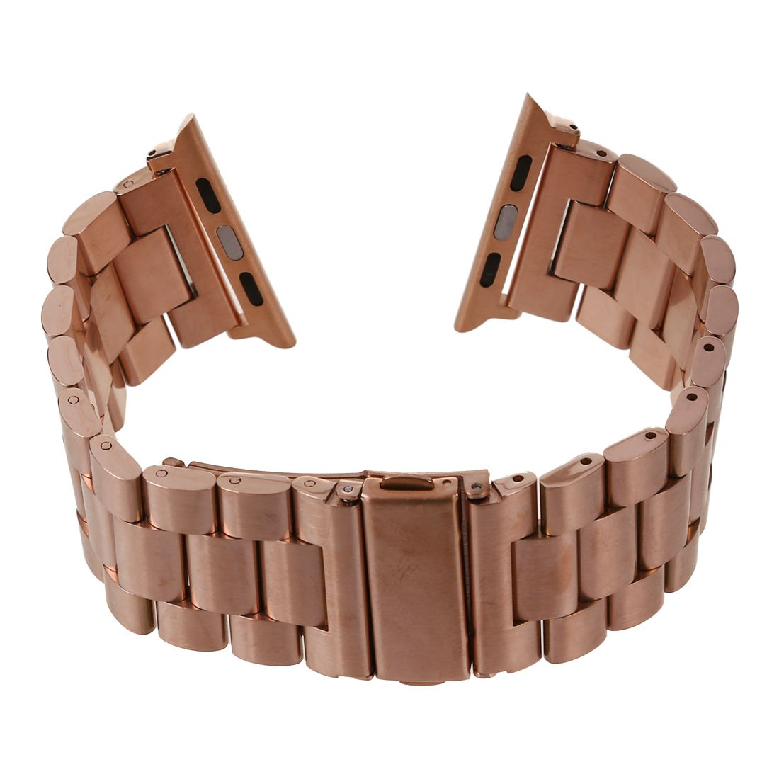Stainless Steel Metal Strap Band 3 Ball Link Bracelet for Apple Watch iWatch 42mm(Rose Gold) wholesale5pcs stainless steel metal strap band 3 ball link bracelet for apple watch i watch 42mm rose gold