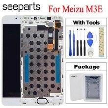 """5.5 """"pour MEIZU M3E LCD écran tactile numériseur assemblée Meilan E pour Meizu M3E LCD pièces de rechange + outils noir/blanc"""