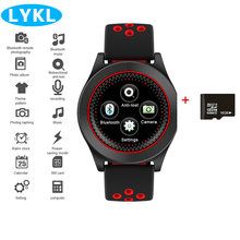 LYKL TF8 Sport Smart Watch Bluetooth Support Relogio Invicta 2G SIM/TF card Mp3 player for Apple iPhone Xiaomi HW Android IOS(China)