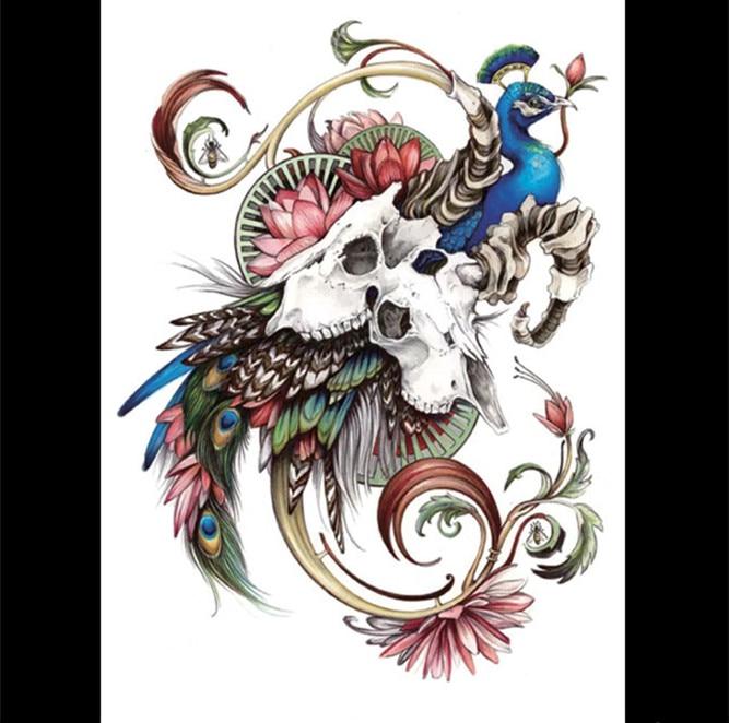 Art Peacock Body