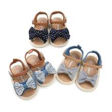 TELOTUNY 2018 summer baby girls Baby Woven Belt Sandals Shoe Casual Shoes Sneaker Anti-slip Soft Sole Toddler Shoes 5.4(China)