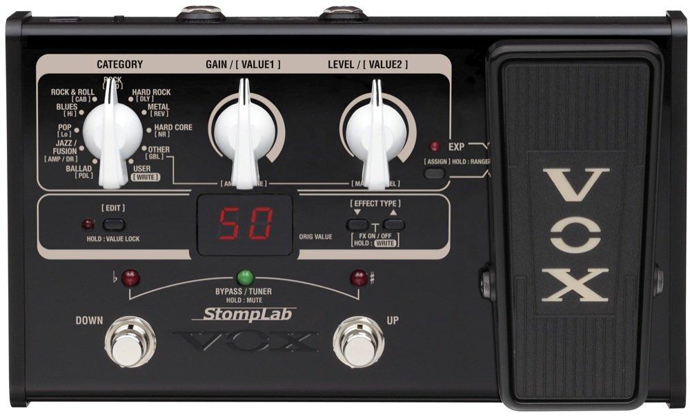 Vox StompLab IIG 2G Modeling Guitar Effect Processor автомагнитола videovox vox 100