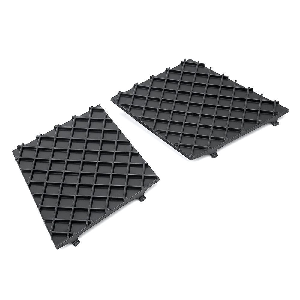 Black Front Bumper Lower Mesh Grill Trim Cover Pair Left Right For <font><b>BMW</b></font> E60 <font><b>E61</b></font> M Exterior Accessories Replacement Parts NEW image