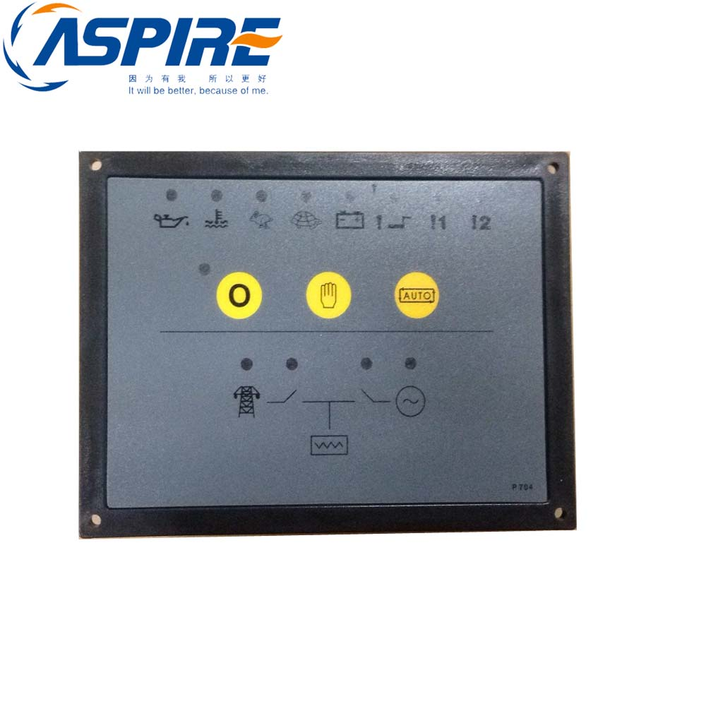 Controller 704 Diesel Engine Genset Board Generator Control Panel fast shipping 6 5kw 220v 50hz single phase rotor stator gasoline generator diesel generator suit for any chinese brand
