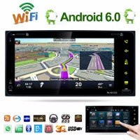 Car Styling 7 Inch Android 6 0 HD 2DIN Car Radio Stereo GPS AM FM MP5