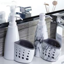Многофункциональный ящик для хранения жидкого моющего средства для кухни и ванной комнаты, Чистящая губка, держатель для мыла