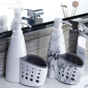 Rack Soap-Holder Storage-Box Liquid Detergent Cleaning-Sponge Bathroom Kitchen Drainboard