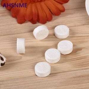 Image 2 - AHSNME wholesale 10000pcs Compressed towel 22 * 24cm Outdoor travel disposable towel Nonwoven Pill Towel Makeup Cleansing Towel