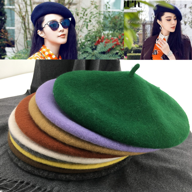 Hot Sale] Fasion Military Army Soldier Hat Men Women Wool