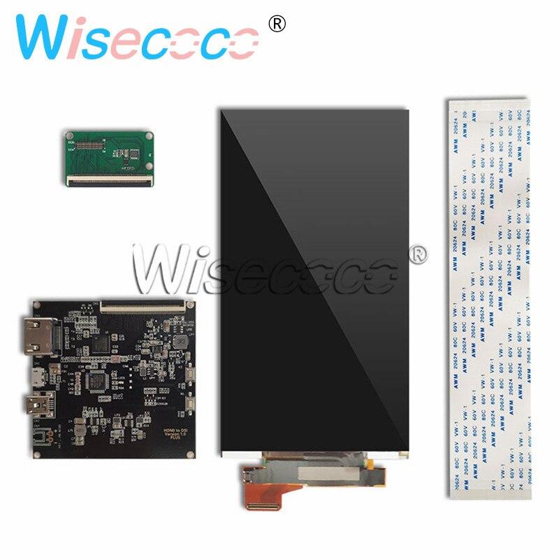 5.5 inch 4K lcd for Wanhao duplicator 7 DLP 3D printer LCD display screen HDMI driver board