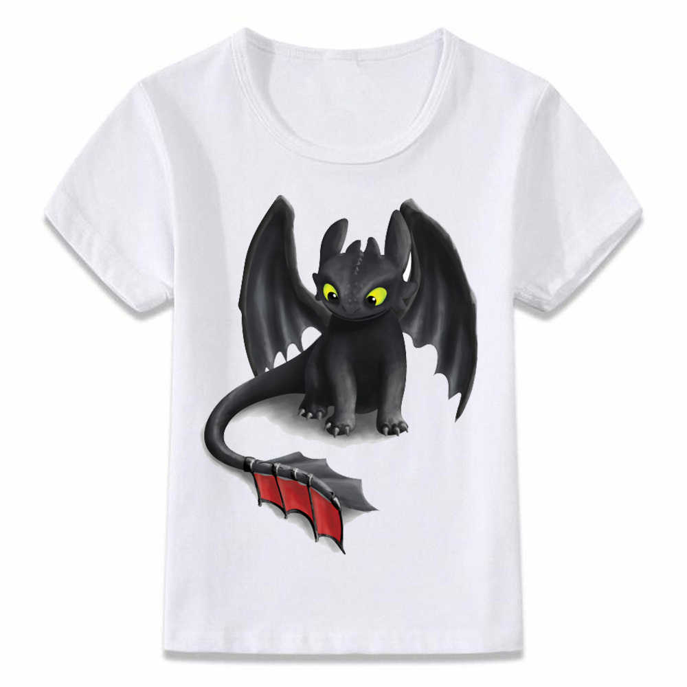c973533a4 Kids T Shirt Toothless The Night Fury T-shirt Boys and Girls Toddler Tee