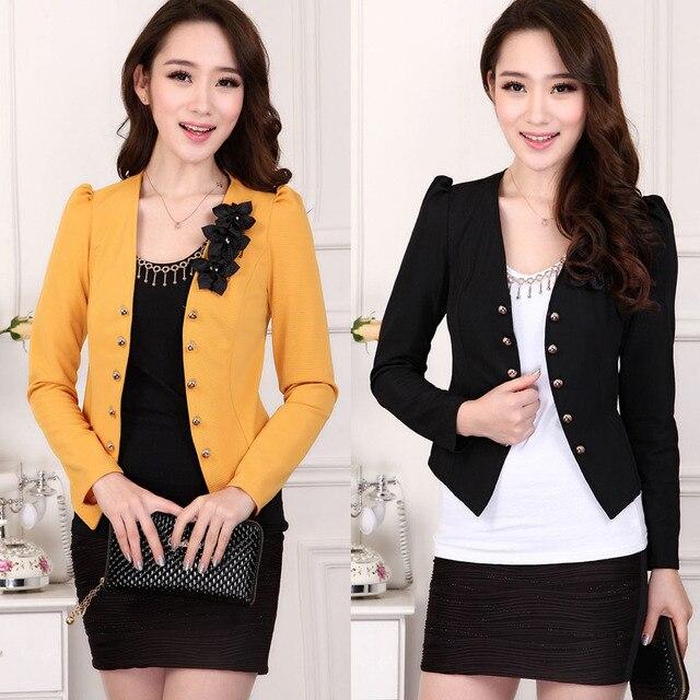 a3a4adb86031 L 5XL free shipping 5 colors jaqueta feminina blazer women Korean ...