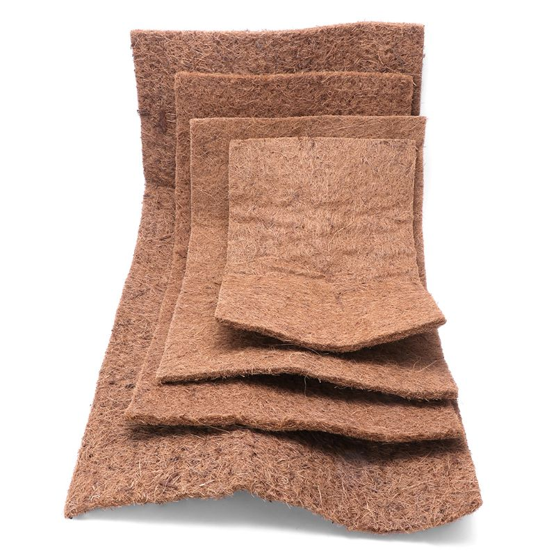 Reptile Bed Mat Tortoise Lizard Climbing Pet Special Mat Tortoise Coir Coconut Palm Pad Box Landscaping Mats 4 Sizes C42