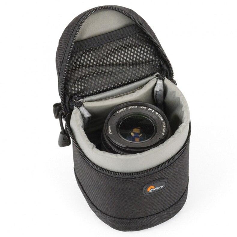 Gratis frakt New Lowepro Lens Case 9 x 9 cm väska för Standard Zoom - Bälten väskor - Foto 5