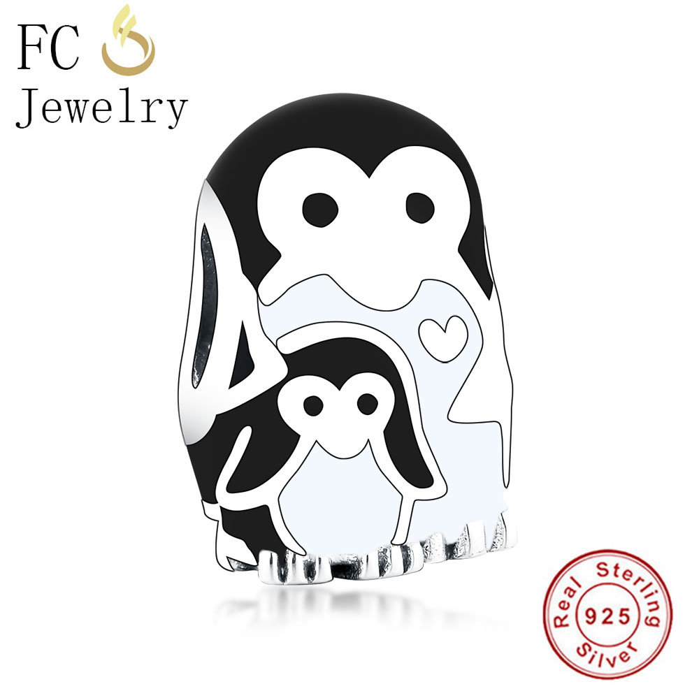 Beads Trustful Fc Jewelry Fits Original Pandora Charms Bracelet 925 Sterling Silver Black And White Enamel Monkey Bead For Making Berloque 2019 Promoting Health And Curing Diseases Beads & Jewelry Making