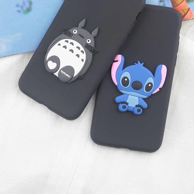 Cute Cartoon Stitch Case for Samsung Galaxy A2 Core A10 A20e A30 A40 A40S A50 A60 A70 M10 M20 M30 M40 M50 Case Soft Phone Cover