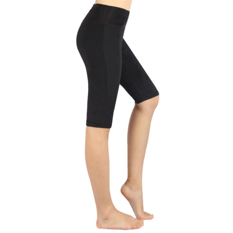 Women High Rise Seamless Skinny Sport Pants Solid Color Butt Lift Boxer Fitness Tights in Pants amp Capris from Women 39 s Clothing