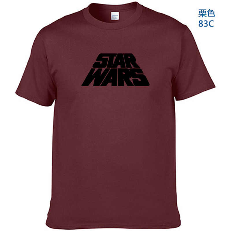 Yeni marka 2019 Yaz erkek tişörtlü Rahat Star Wars Baskı t shirt Kısa Kollu Tees Hip Hop Tops tee