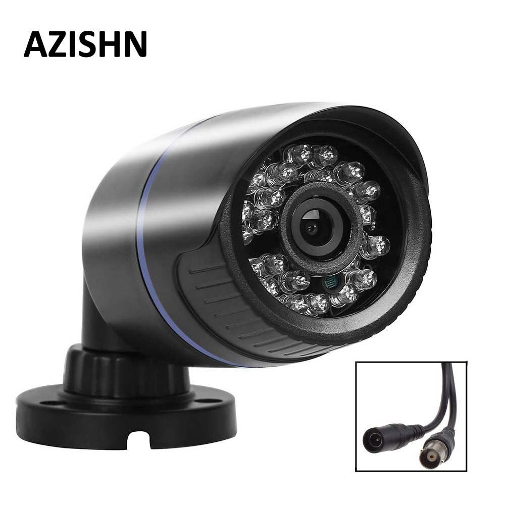NOUVEAU CCTV AHD caméra 1.0MP/2.0MP 720 P/1080 P 24IR vision nocturne Imperméable À L'eau Extérieure AHD Caméra CCTV sécurité Surveillance IR Cut
