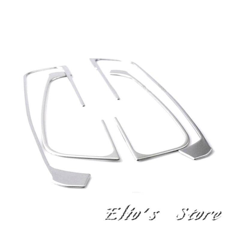 4 шт. Нержавеющаясталь межкомнатных дверей подлокотник кнопка включения Окно чехол накладка для Audi A3 8 В 2012 2018 (для левым автомобиля!)