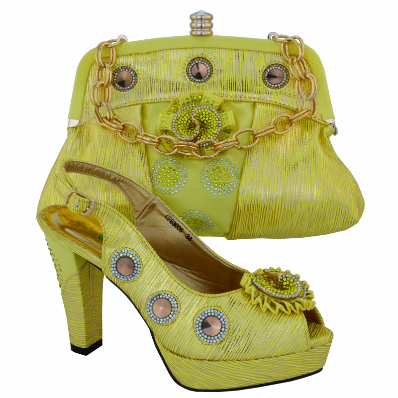 New Italian Ladies Shoes And Bags Set For Party Africa Style High Heel Shoes And Bag Set For Party Free Shipping CP63006 free shipping no 40 3 red color fo shoes and bag set new summer women s shoes low heel shoes crystal high heel shoes