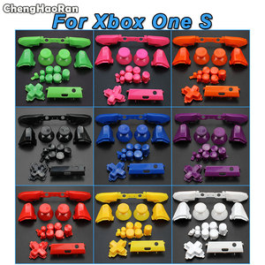 Image 2 - ChengHaoRan Full Set Solid RB LB Bumper RT LT Trigger Buttons Mod Kit For Microsoft Xbox One S Slim Controller Analog Stick Dpad