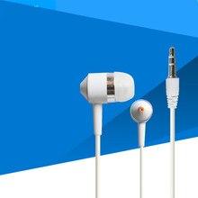 Écouteurs filaires intra-auriculaires sans microphone, casque d'écoute avec capuchon en cristal, pour téléphone portable, iPhone MP3