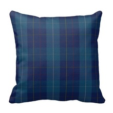 Lazy Traditional Mackerrell Clan Tartan Plaid Pillow Case (Size: 45x45cm) Free Shipping