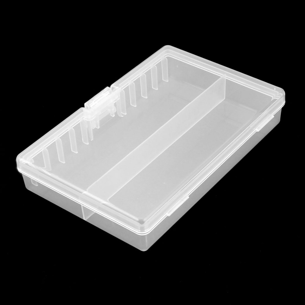 High Quality White Hard Plastic Case Holder Storage Box Container For 48 X AA Battery Easy For Carrying Outdoor