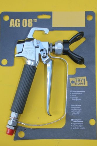 Professional AG08 airless paint spray gun for painting machine heavy duty electric airless paint sprayer piston painting machine 1095bwith brushless motor