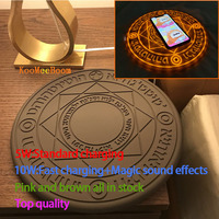 New Comic Magic Array Wireless Charger 5W/10W Magic Circle Qi Wireless Universal Fast Charger Charging Pad with Box SUP dropship