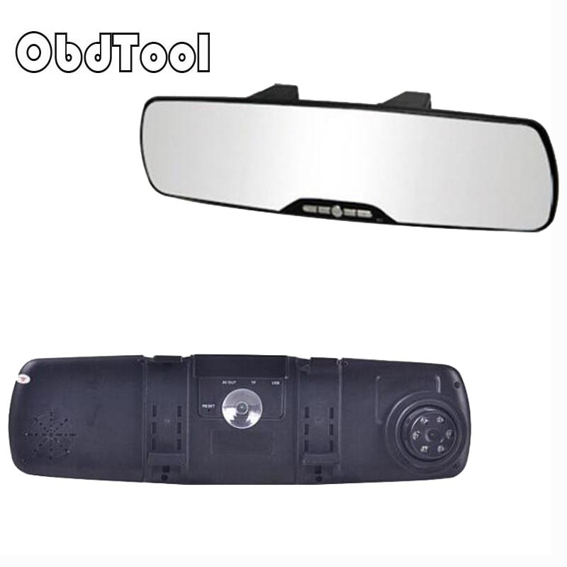Rearview Mirror Dash font b Camera b font 2 7in Full HD 1080P Video Cam Wide