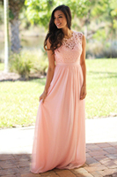 2018 Long Chiffon Sexy Lace Bridesmaid Dresses Pink Sage Wedding Party Dresses Country Bridesmaid Gowns Vestidos de Plus size