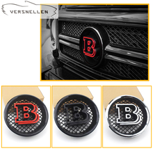 3 colors front grille B emblems for Mercedes-Benz G class W463 G350 G500 G55 G65  front grille B emblems for mercedes benz g class w463 g500 g63 g65 g800 1990 2018 with emblem gt style front racing grille