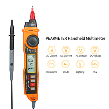 Handheld Digital Multimeter Professional Backlight LCD Display Pen Multimeter Tester DC/AC Voltage Current Meter with NCV стоимость