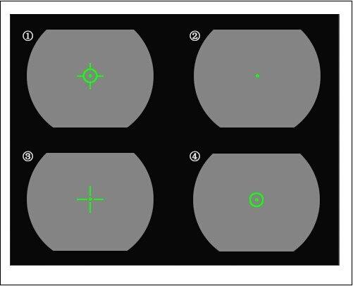 PPT Tático 1x32x34 Red E Green Dot