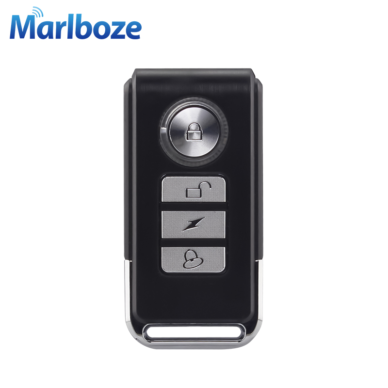 Marlboze Wireless Remote Controller For Our Door Security Alarm Bicycle Vibration Spot Alarm PIR Sensor Alarm