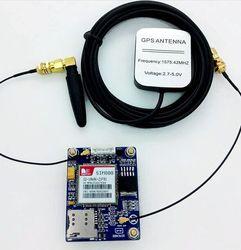 2016 new sim808 gsm gprs gps module quad band precise development board with gps gsm antenna.jpg 250x250