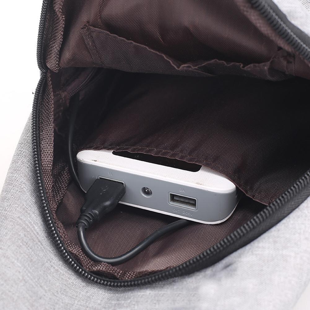 New Luxury  Bags Designer  Bolsos Mujer Men's School Bag Ubs Charging Modern Shoulder Crossbody #6