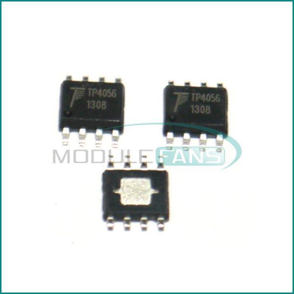 10 Шт. TP4056 SOP-8 TP Чипов Зарядки Аккумулятора IC