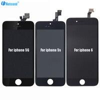 Для iphone 6s 6 5s 5SE 5G ЖК-дисплей + сенсорный экран дигитайзер сборка Запчасти для iphone 5 5g 5s SE 6 6s ЖК-экран