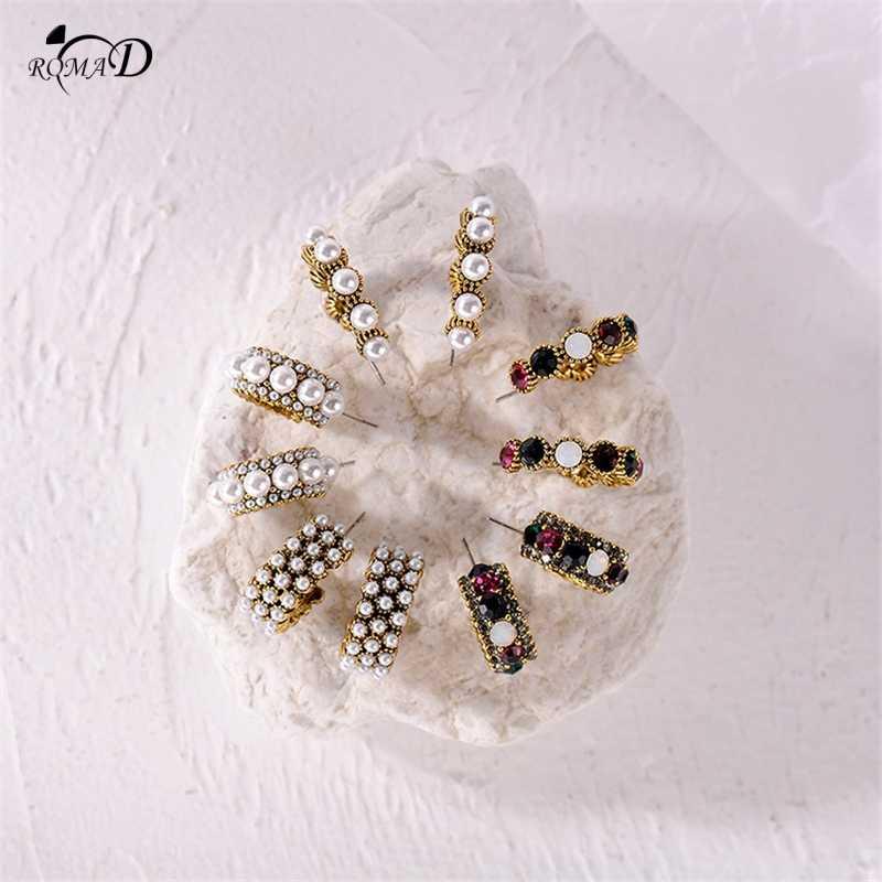 2019 קוריאה סגלגל עגיל לנשים גיאומטריה גדול מעגל שריון צב עגילי אצטט Brincos נשים אוזן טבעות A30