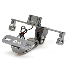 for Universal Motorcycle Motorbike Adjustable Angle Aluminum License Number Plate Holder Bracket  For Ducati M900 M1000 900SS 10
