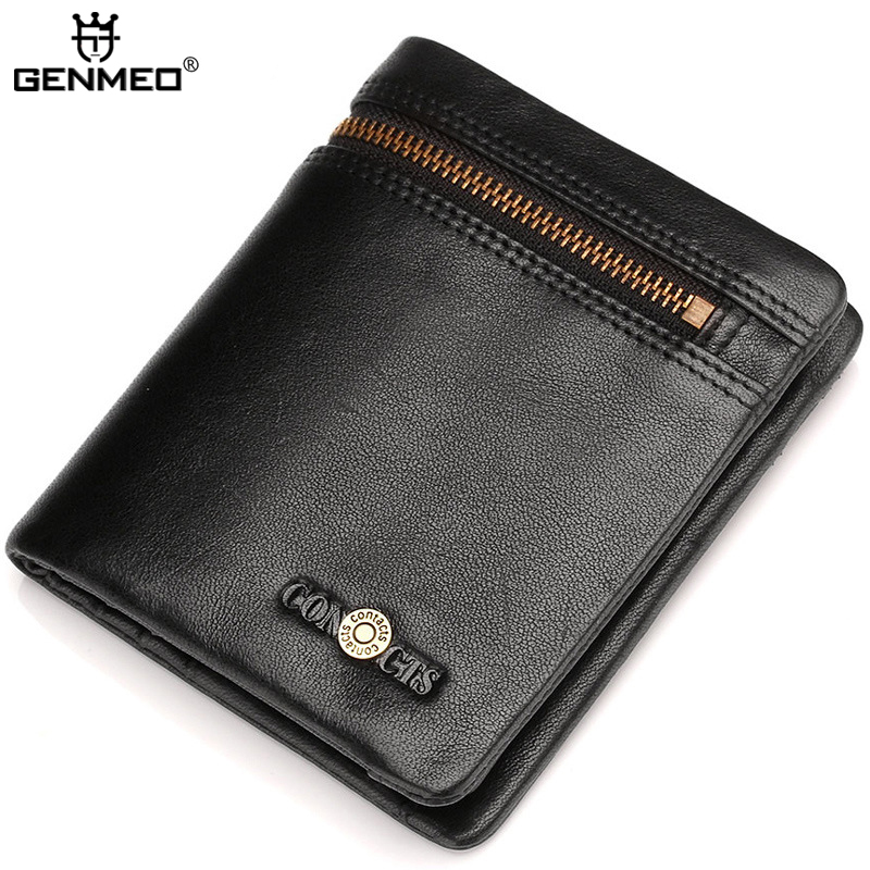 Retro Genuine Leather Wallets Famous Brand Cow Leather Clutch Bags Real Leather Wallet Credit Card Holder Male Purse Bolsa 2016 famous brand new men business brown black clutch wallets bags male real leather high capacity long wallet purses handy bags