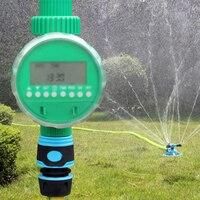 自動庭電子灌漑タイマー屋外水タイマーコントローラ水キットインテリジェンス散水プログラ