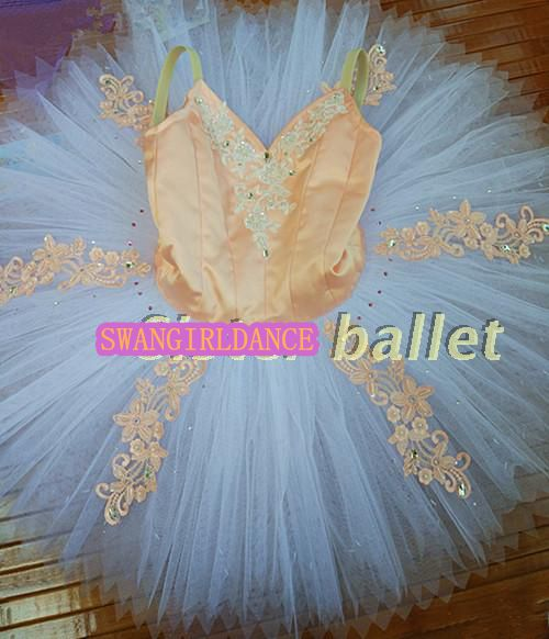 professional tutu custom made fairy ballet tutu adult sleep beauty calssic ballet costumes flower essence nutcracker tutuSB0011
