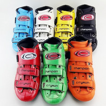 champion carbon fiber Adult male and female children speed skating shoes shoes for racing game shoes 7 color roller skates